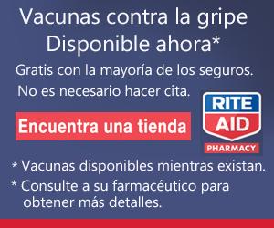 Farmacias Rite Aid   prescripción, vacuna, medicinas, vacuna contra la gripe