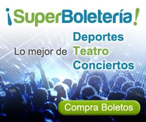 SuperBoletería | Conciertos Latinos | Lo mejor de deportes, conciertos y teatro