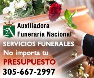 Auxiliadora Funeraria Nacional | Servicios Funerales | Crematorios | Cremaciones | No importa tu presupuesto | Llama ahora 305-667-2997