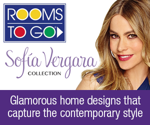 Rooms To Go | Sofia Vergara Collection | Glamorous home designs that capture the stunning, contemporary style