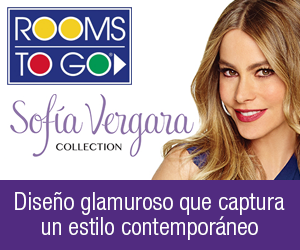 Rooms To Go | Colección Sofia Vergara | Diseño glamuroso que captura un estilo contempóraneo